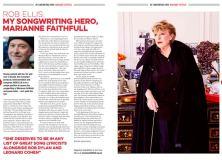 My Songwriting Hero, Marianne Faithfull