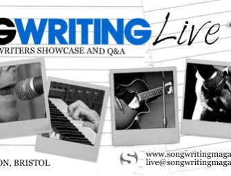 Songwriting Live, Bristol (28 Oct'14)