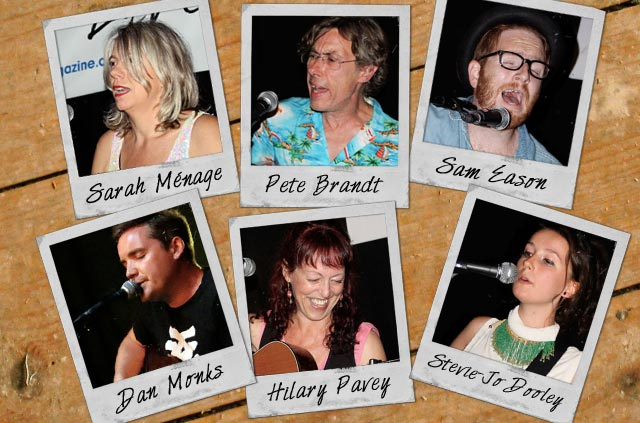 Songwriting Live, Bristol (29 July 2014) line-up