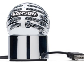 Samson reveal new Meteorite USB microphone