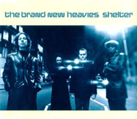 The Brand New Heavies 'Shelter' single cover