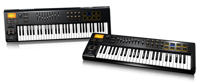 Behringer Motör Series USB/MIDI Keyboard Controllers