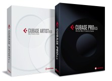 Cubase Pro 8.5 and Cubase Artist 8.5 pack shot
