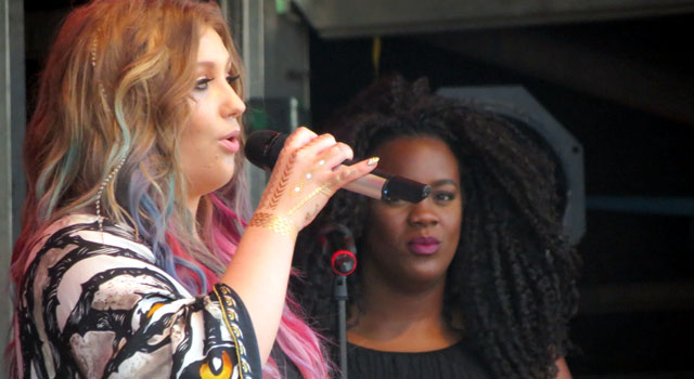 Ella Henderson at Camp Bestival 2015