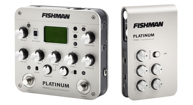 Fishman acoustic analog preamps