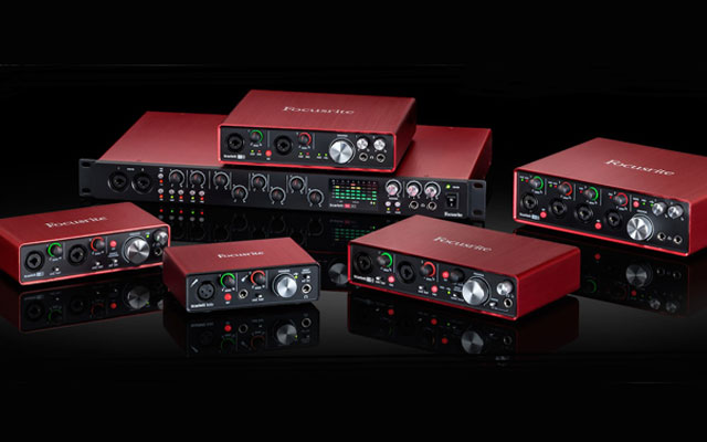 Focusrite Scarlett second generation range