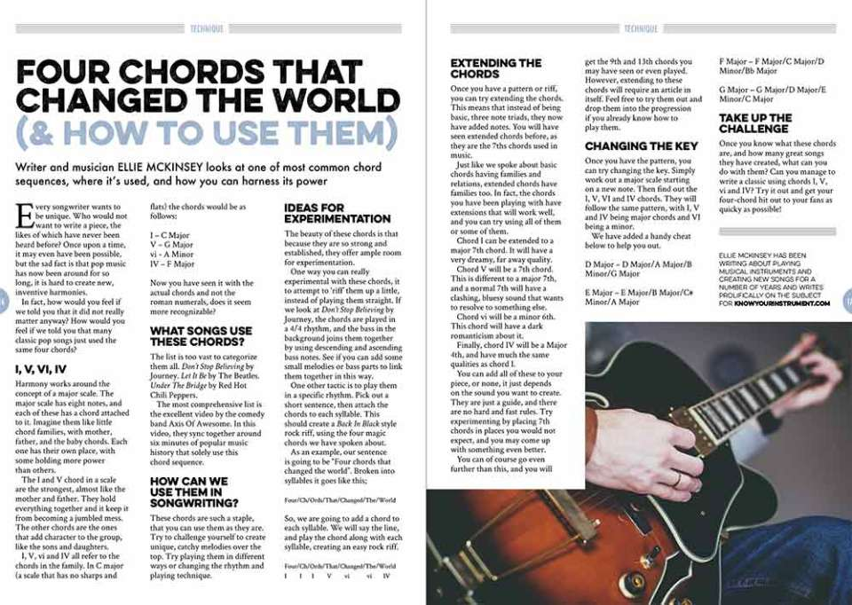Four chords that changed the world