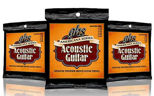 GHS Americana Series Acoustic Guitar strings