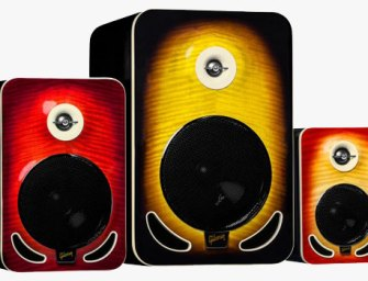 Gibson showcases new Les Paul reference monitors