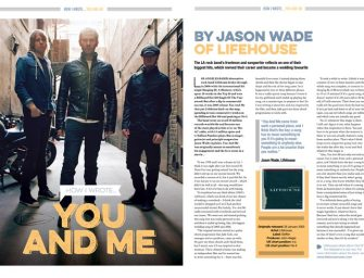 How I wrote 'You And Me' by Lifehouse's Jason Wade