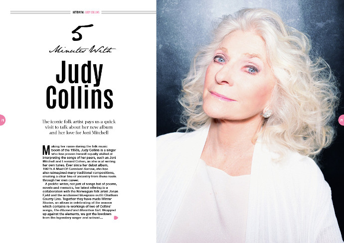 Judy Collins in Songwriting Magazine