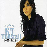 KT Tunstall 'Suddenly I See' single cover