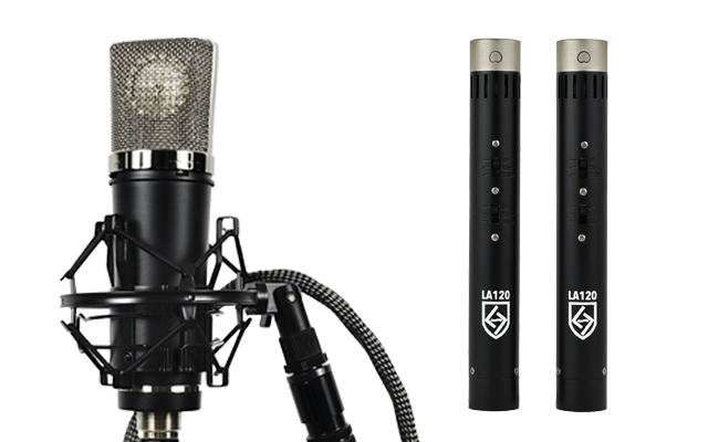 Lauten Audio Series Black microphones
