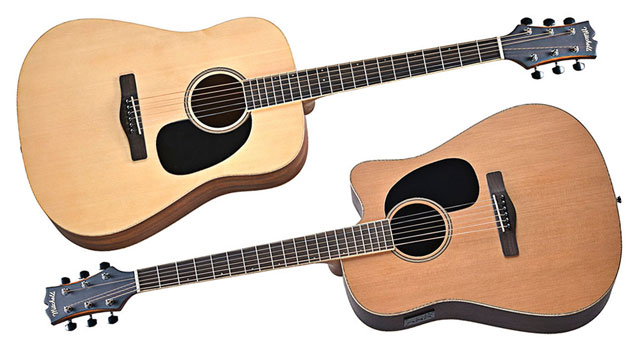 Mitchell Element series guitars ME1 and ME2CEC