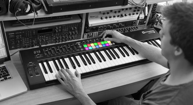 Novation LaunchKey keyboard controller