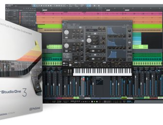 PreSonus introduces Studio One 3