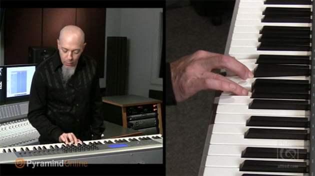 Pyramind - Jordan Rudess - Book DVD