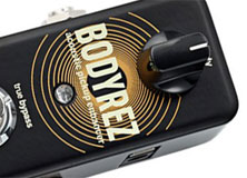 TC Electronic reveals the BodyRez acoustic pickup enhancer