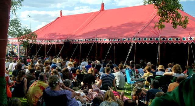 The Den, Cambridge Folk Festival