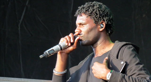 Wretch 32 at Camp Bestival 2015