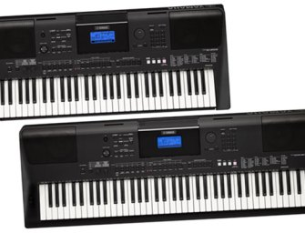 New PSR keyboards from Yamaha