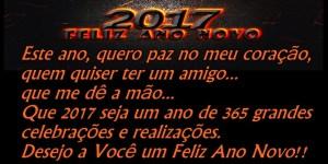 2017 de Muitas Realizações – Feliz Ano Novo