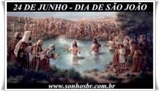 24 de Junho dia de São João