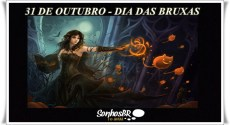 Dia das Bruxas – 31 de Outubro