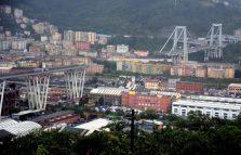Queda parcial de ponte deixa 20 mortos em Gênova, na Itália