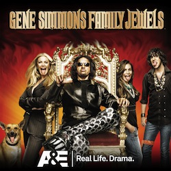 Gene Simmon y su familia