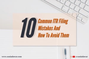 common itr filing mistakes
