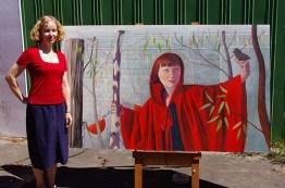 soniak- portrait of Anna Walker