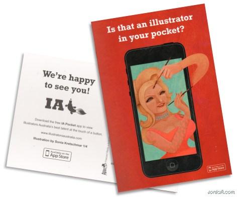 IA App postcard