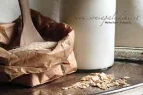Farina e Latte di Avena… 'miracolo' nei Capelli