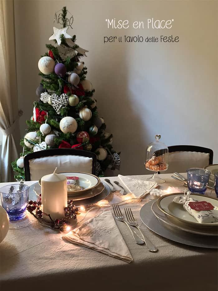 """La mia tavola di Natale con una """"mise en place"""" semplice e ..."""