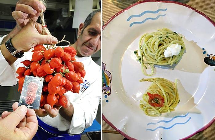 Amalfi pomodori pasta