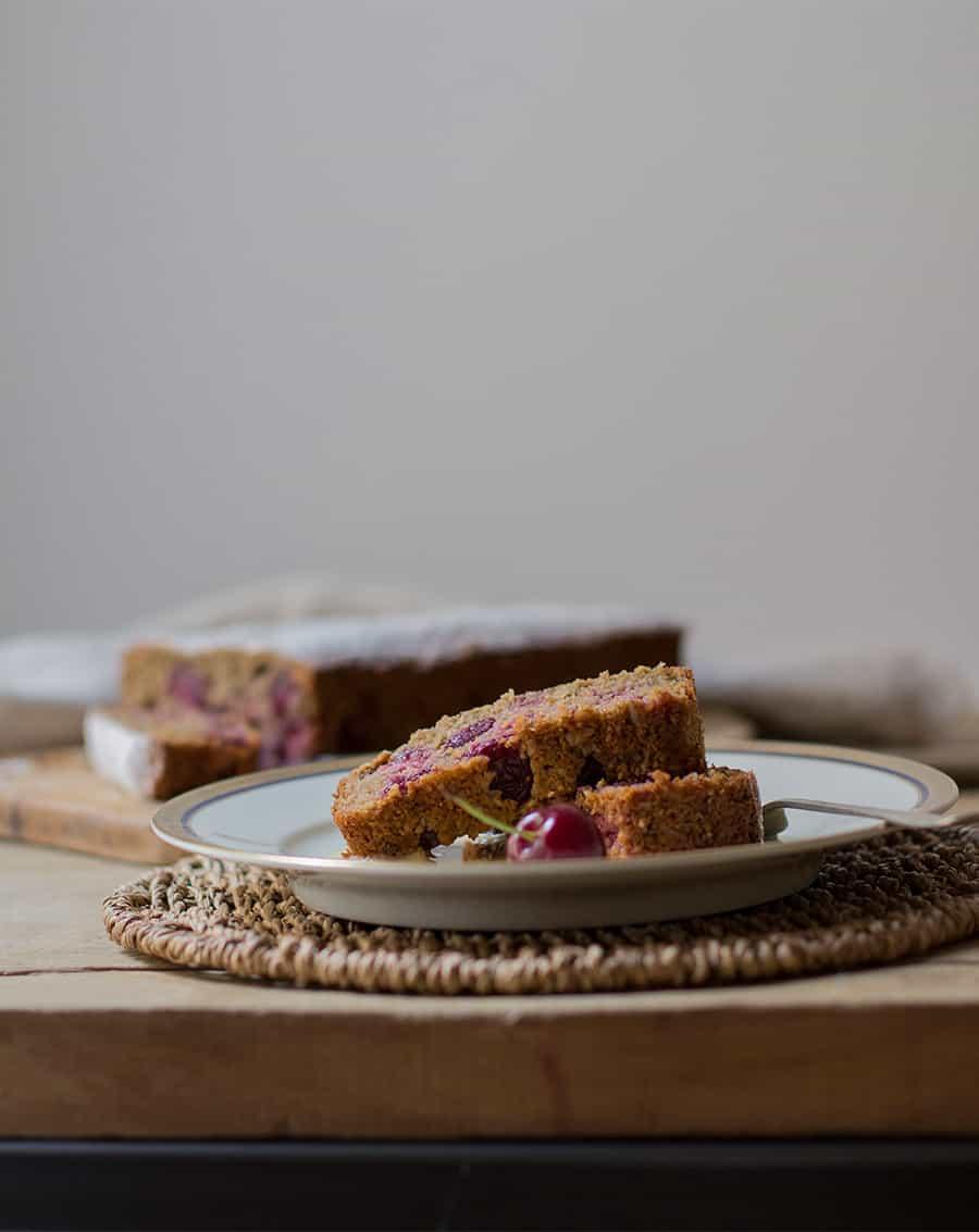 Ricetta Plumcake con Ciliegie