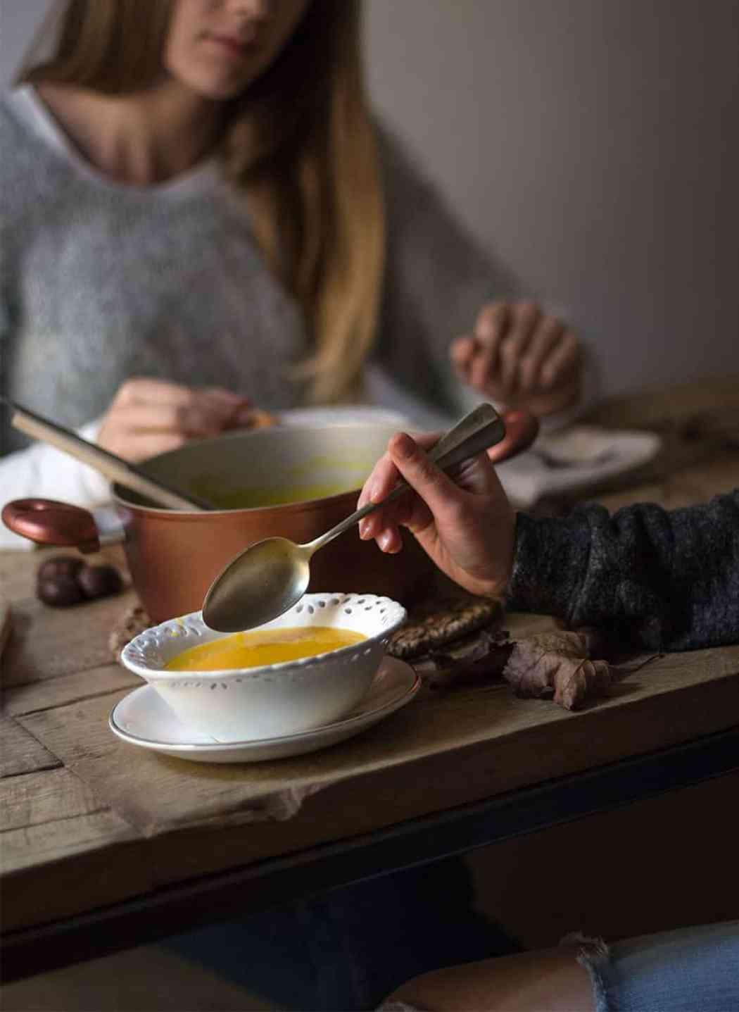 zuppa di zucca invernale