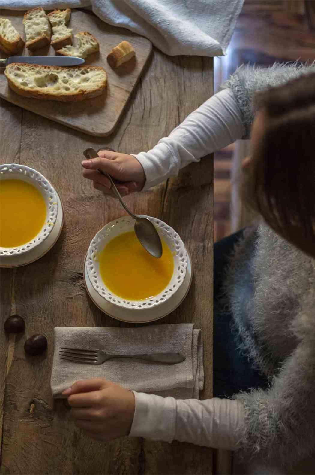 ricetta zuppa di zucca