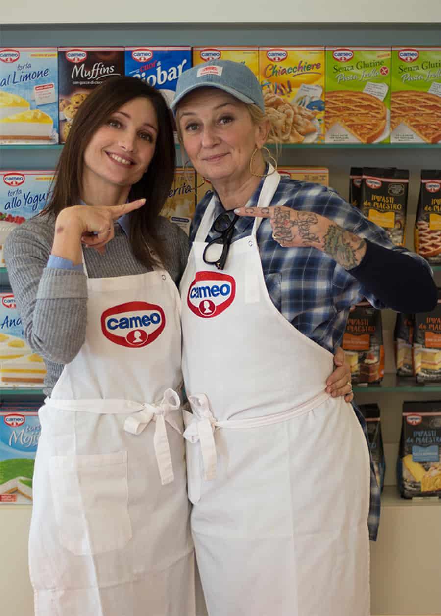 La Pina e Sonia paladini