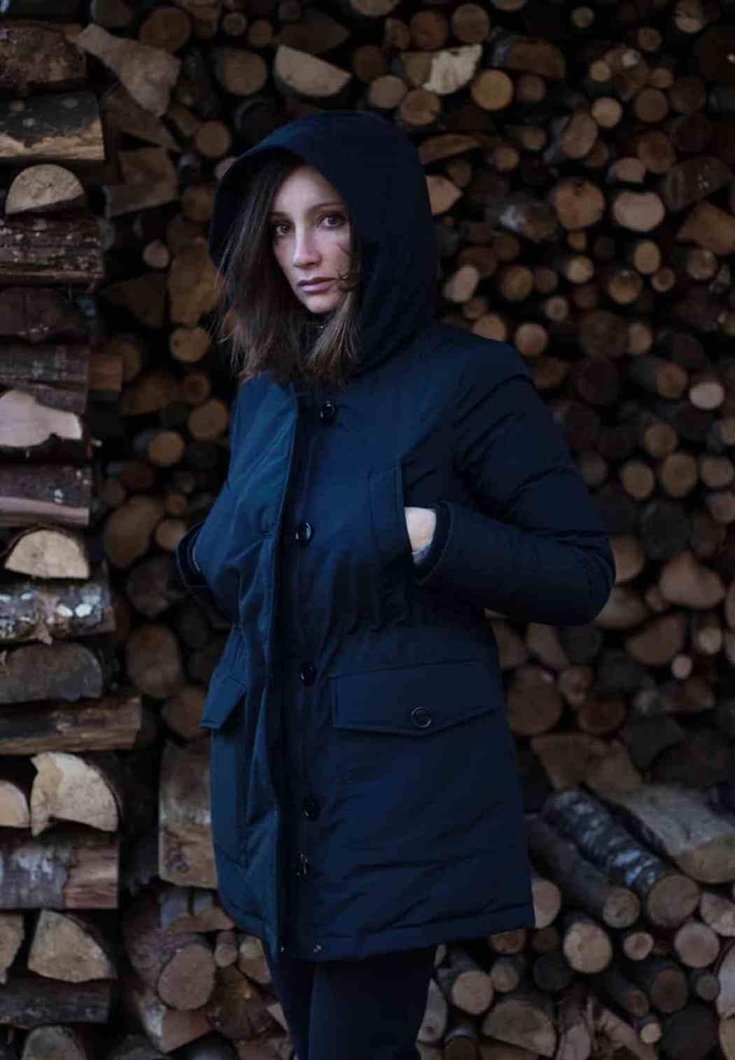 Sonia Paladini in inverno