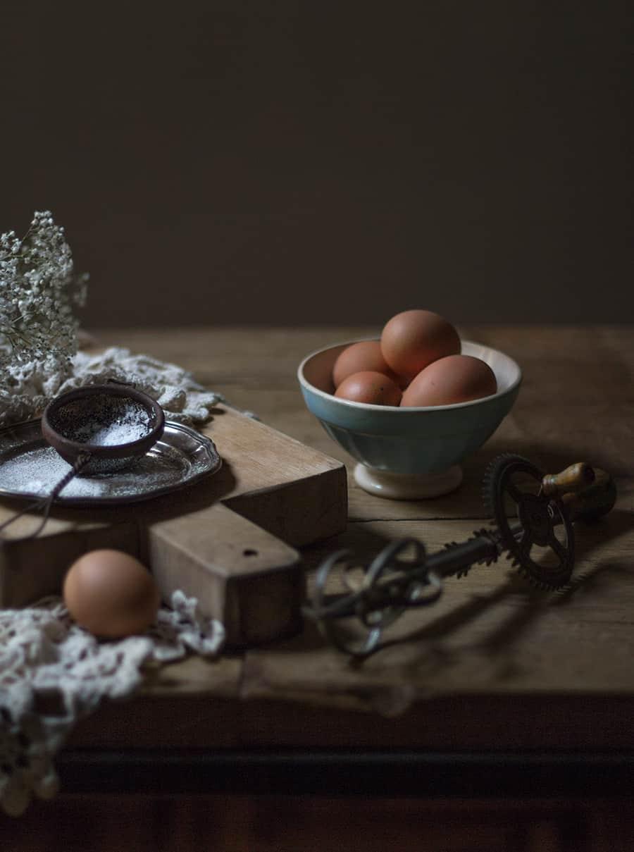 torta con le uova