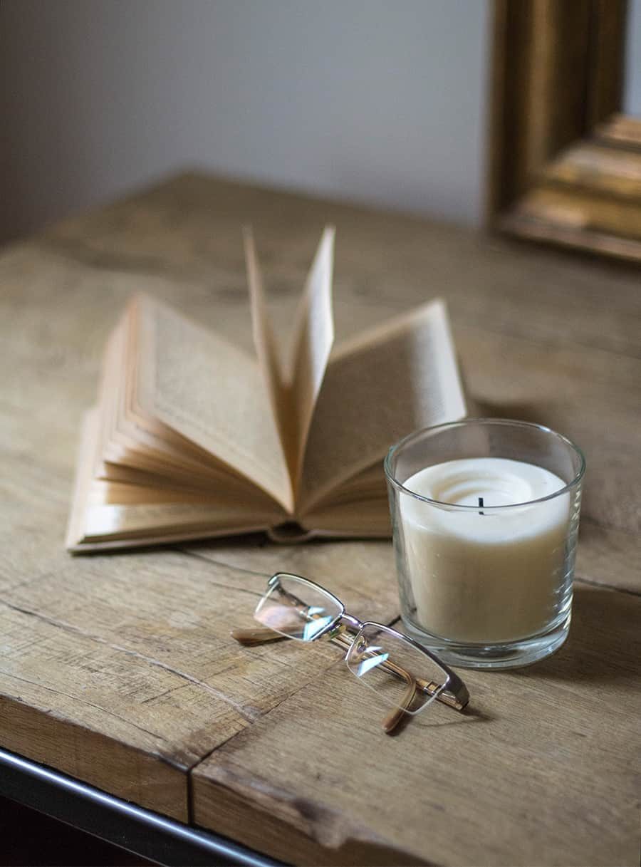 candele bianche