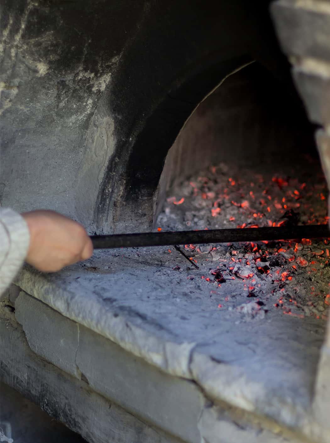 antico forno a legna