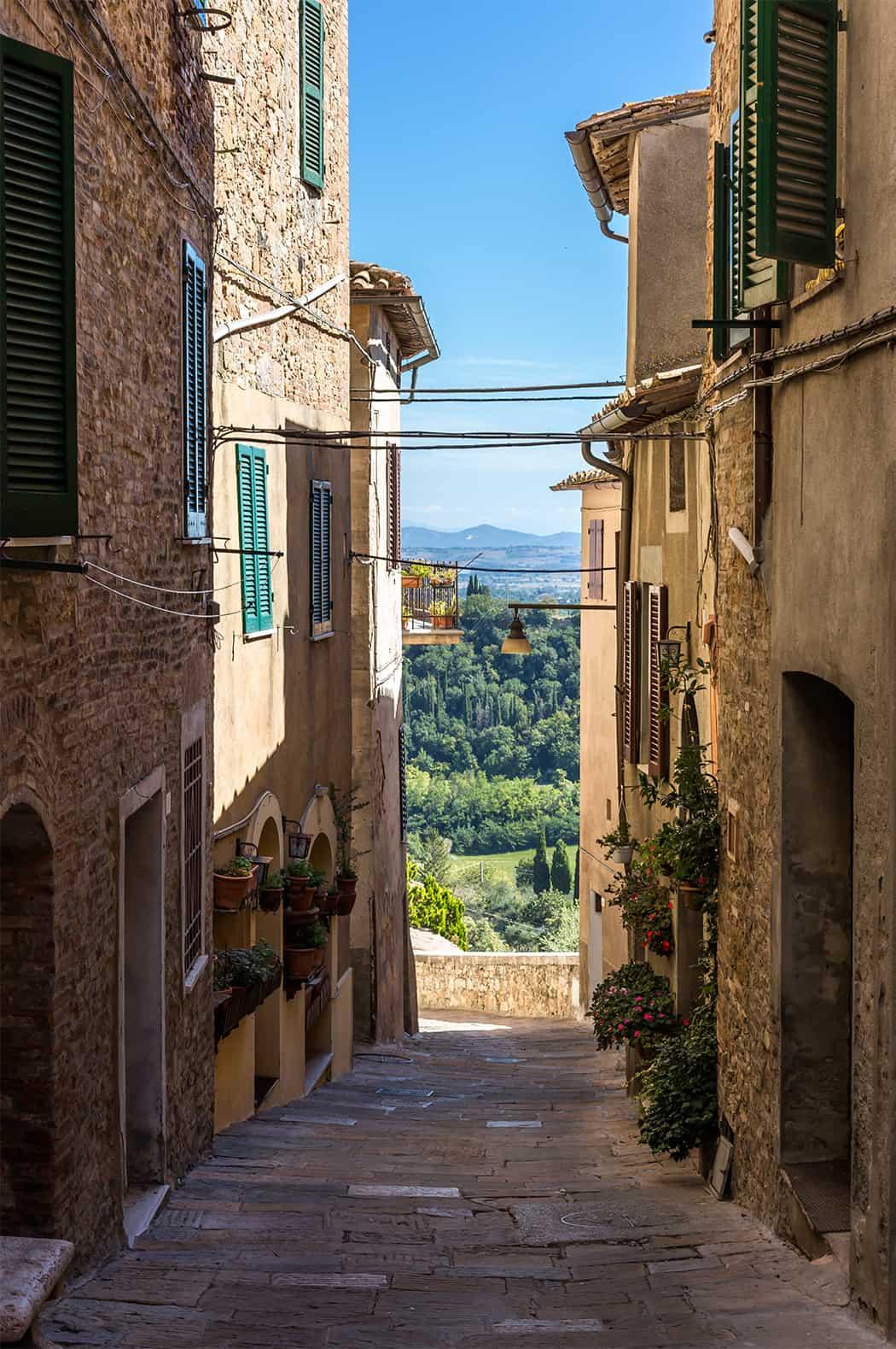 centro storico Chianciano Toscana