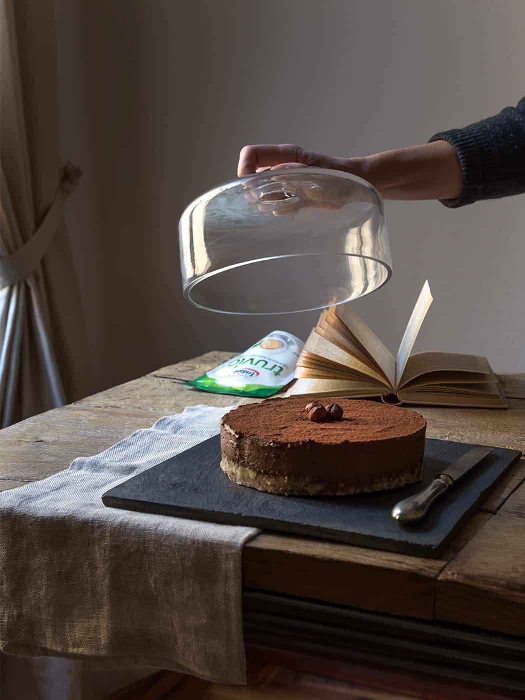ricetta torta al cioccolato e nocciole