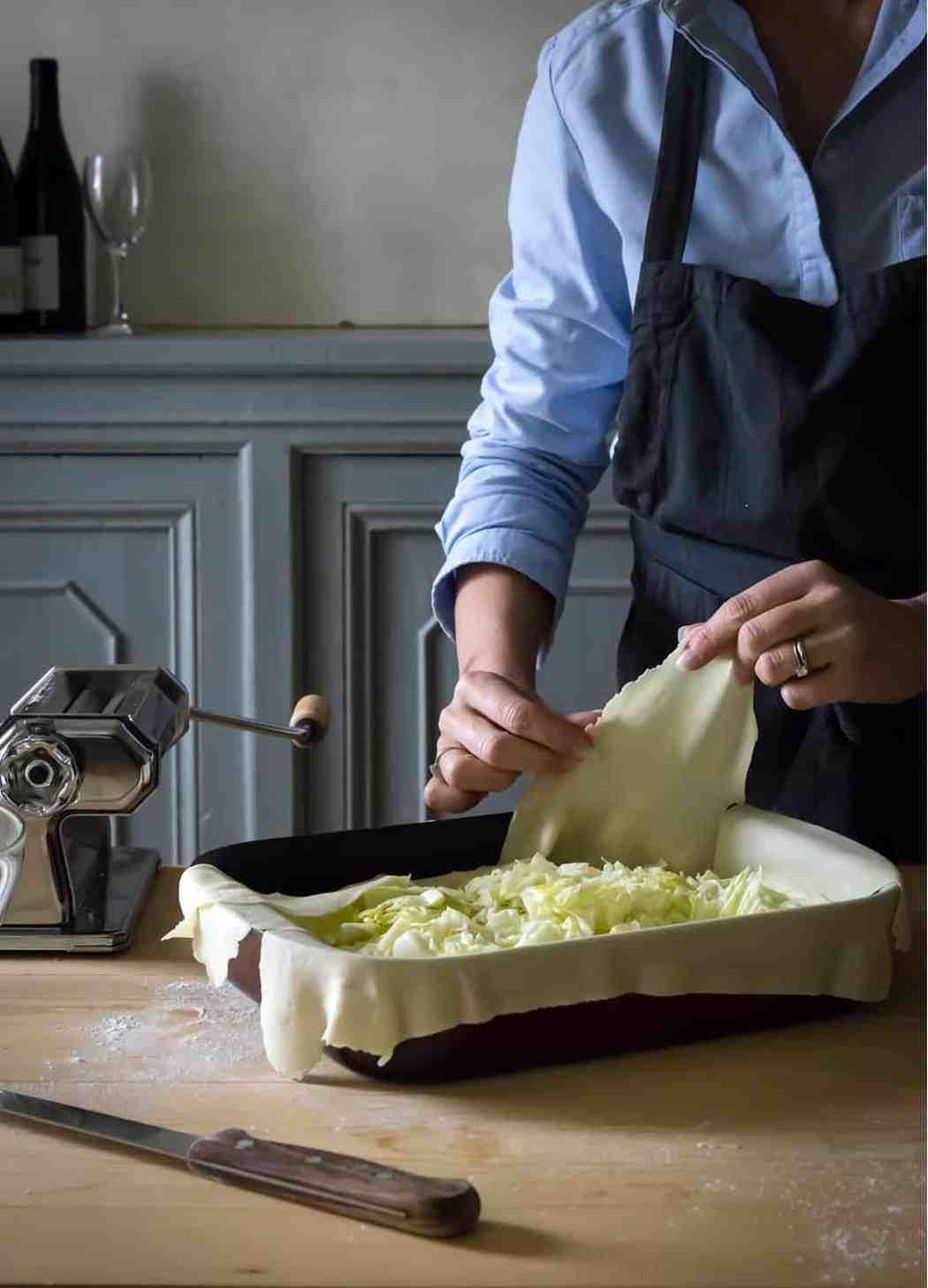 ricette torte di verze e Parmigiano
