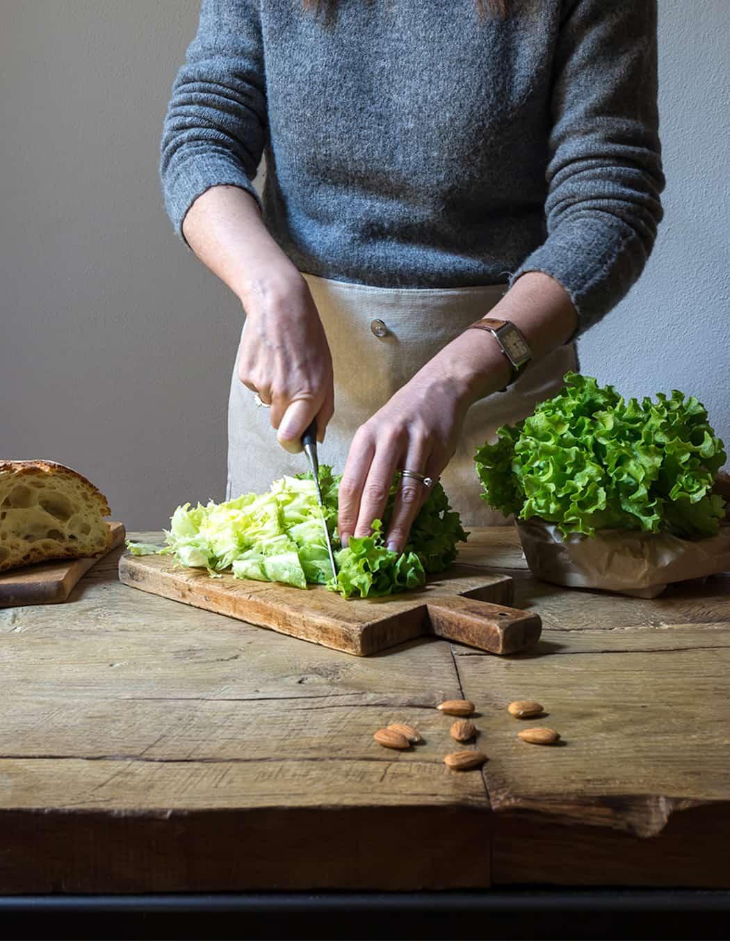 ricetta con insalata Lusia