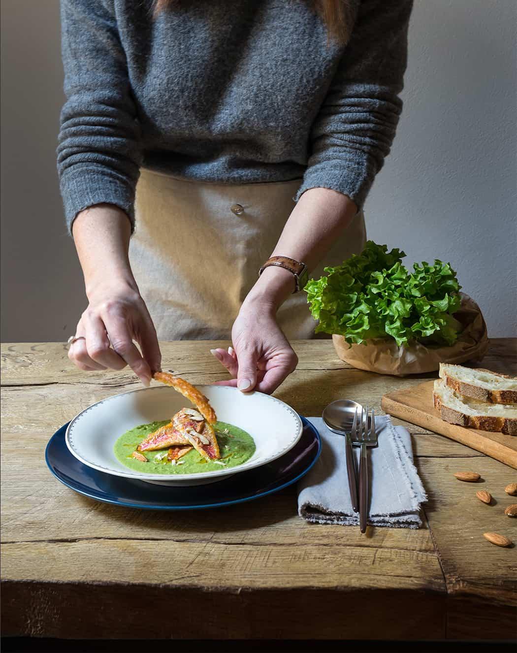 ricetta triglie con insalata gentile Lusia