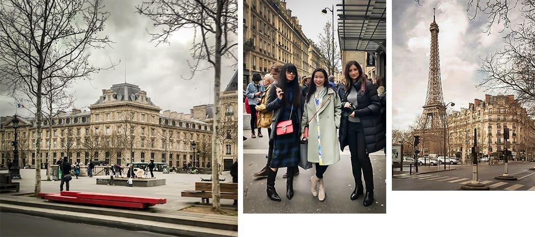 tour amiche a Parigi